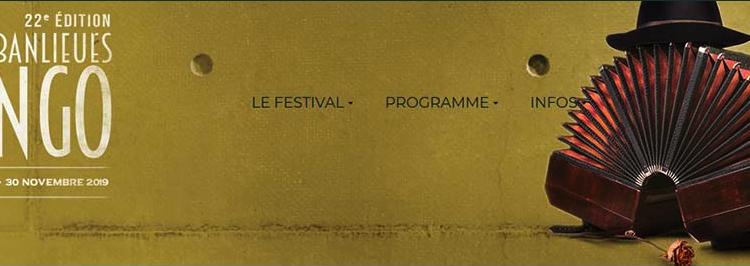 22e FESTIVAL PARIS BANLIEUES TANGO du 13 octobre au 30 novembre 2019