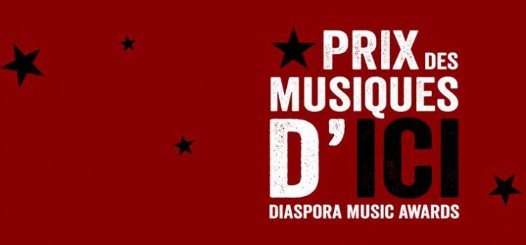 LANCEMENT du 3 ème Prix des Musiques d'ICI – Diaspora Music Awards 2019