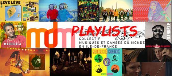 Playlist du Collectif MDM IdF n°1 – Octobre 2020 – Parcours transglobal – par Francois BENSIGNOR