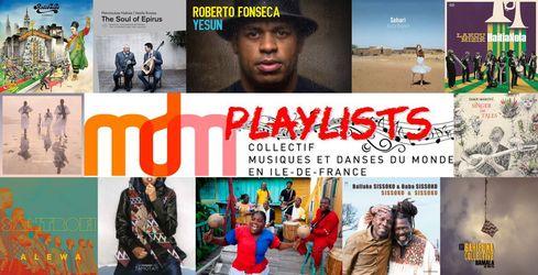 """Playlist du Collectif MDM IdF n°4 – Janvier 2021 – """"Best of 2020"""" – par François BENSIGNOR"""