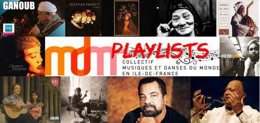 """Playlist du Collectif MDM IdF n°5 – Février 2021 – """"Inspirations"""" – par Alexia Traore, de la Compagnie Dayma"""